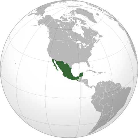 Mexiko Nordamerika